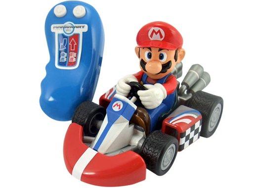 Mario kart wii rennauto gebt gummi mit dem for Coupe miroir mario kart wii