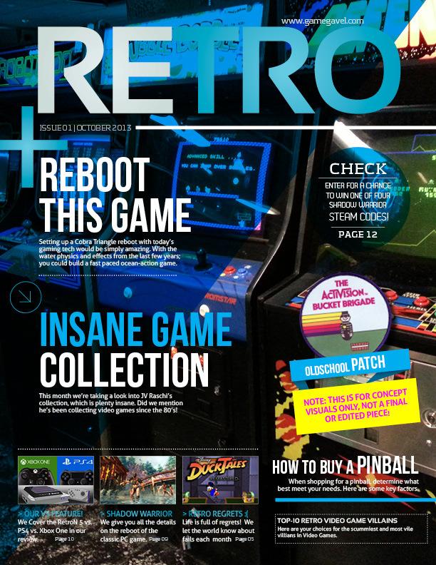 Das Titelblatt der ersten Ausgabe. (Foto: Kickstarter)