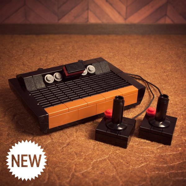 Auch aus Bauklötzen Kult: Der Atari 2600 (Foto: powerpig.com)