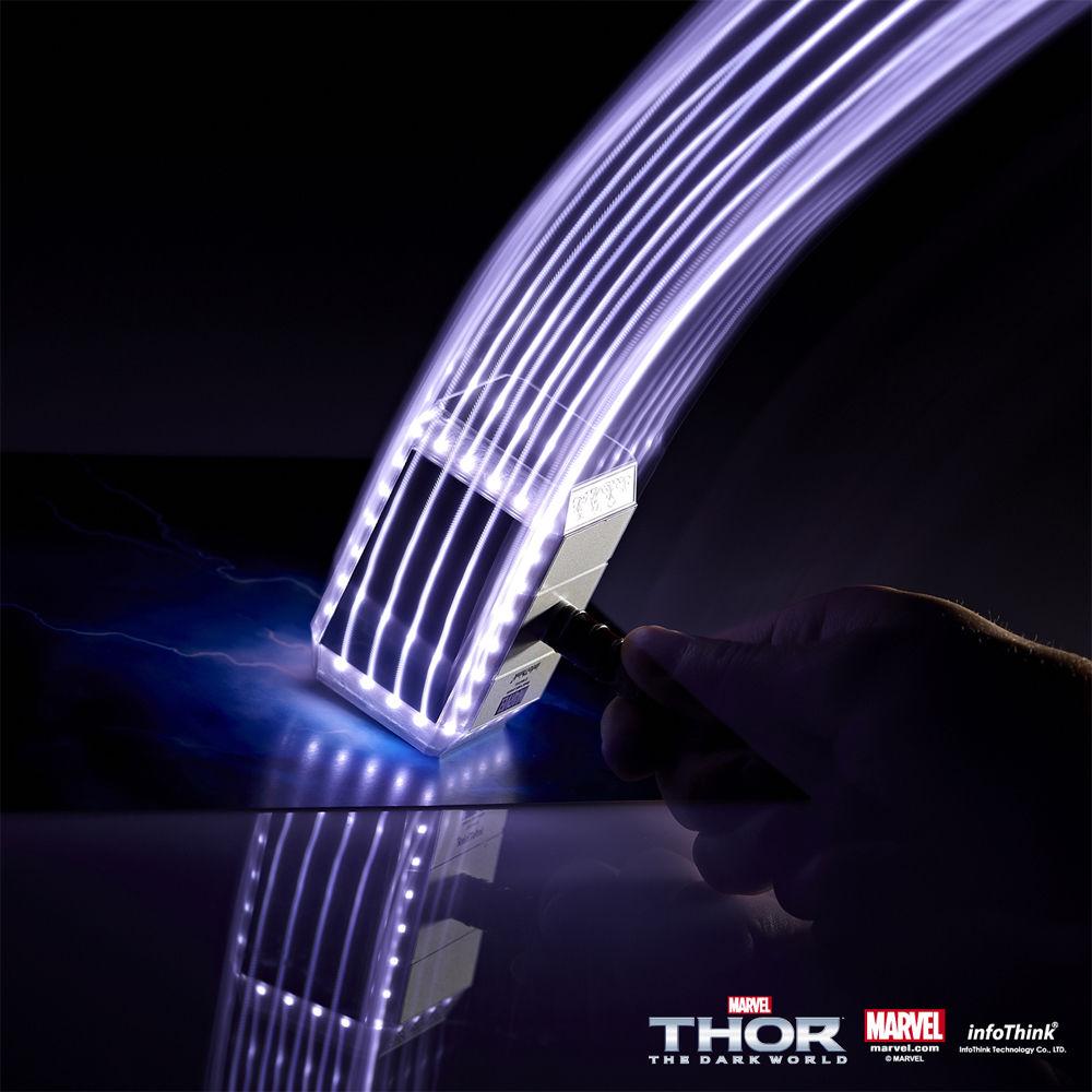 Haut rein, mit dem Hammer von Thor! (Foto: Infothink)