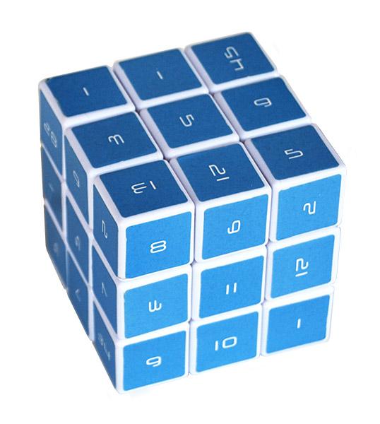 Zauberwürfel mit Zahlenrätsel (Foto: ThinkGeek)