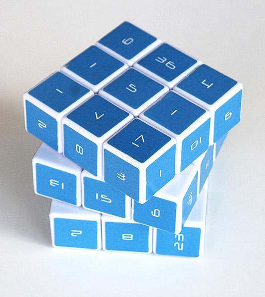 rubiks cube farben anordnung
