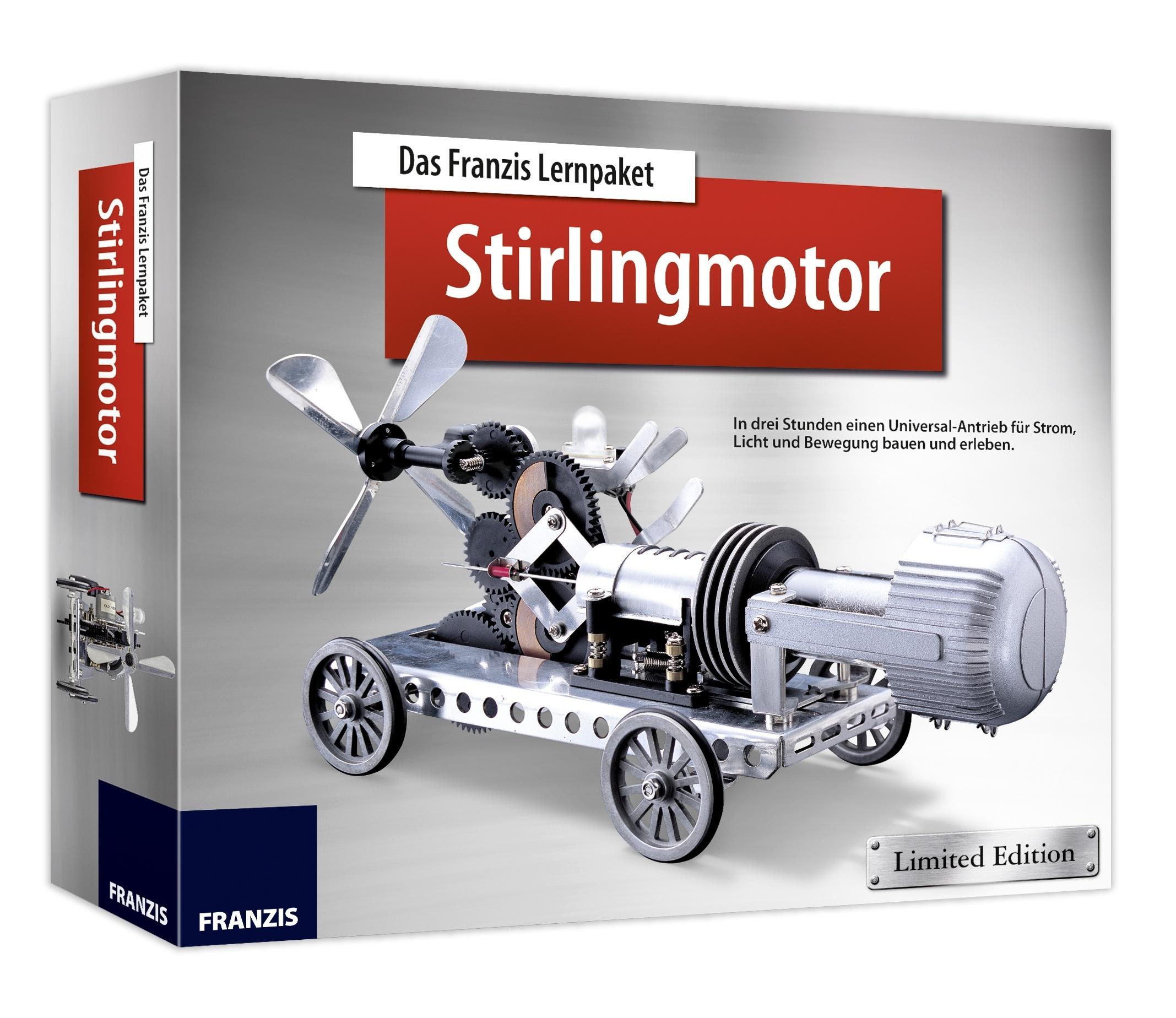 Was zum Teufel ist ein Stirlingmotor? (Foto: Franzis)