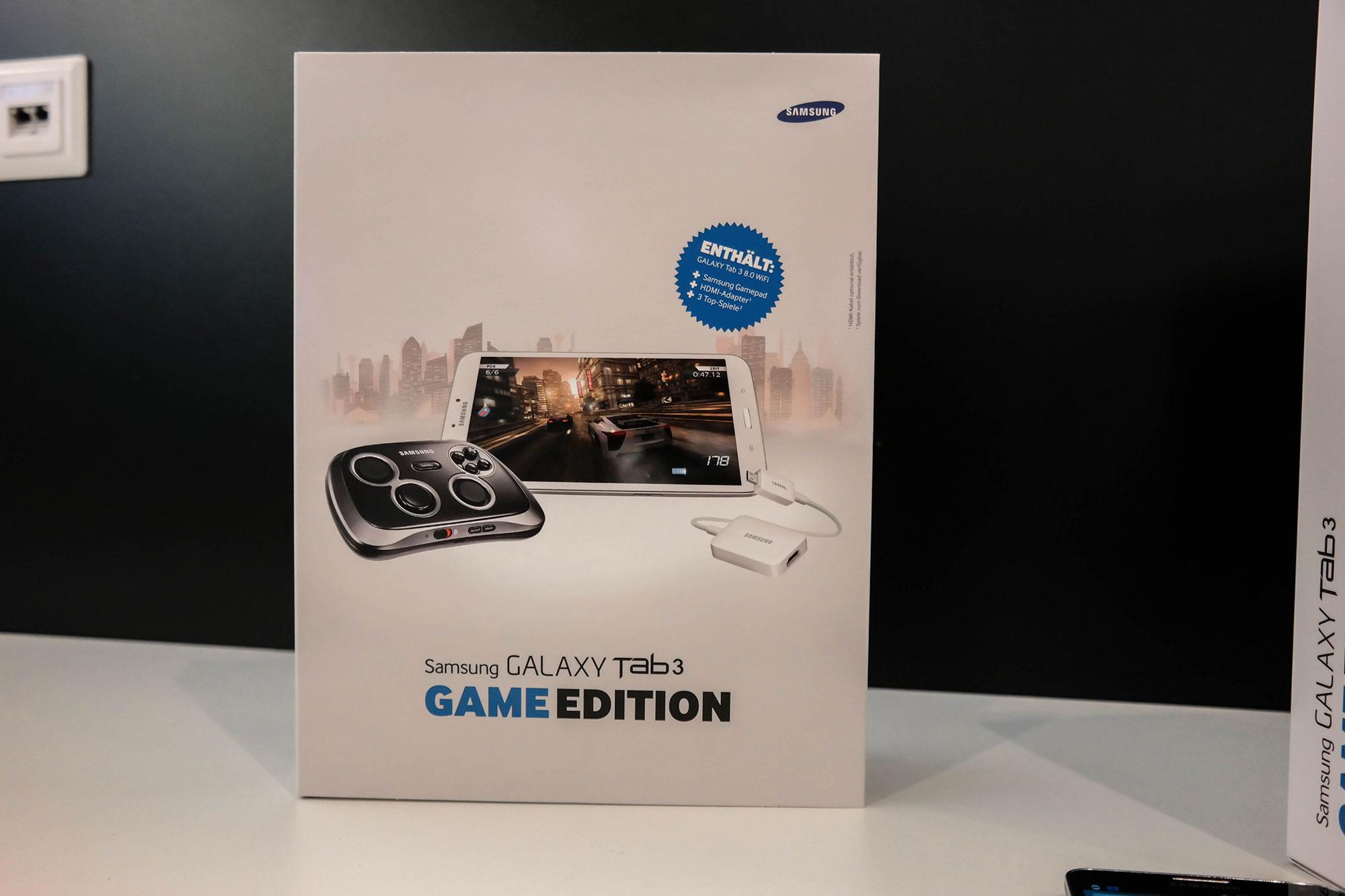 Das GalaxyTab 3 in der Game-Edition. (Foto: allaboutsamsung)