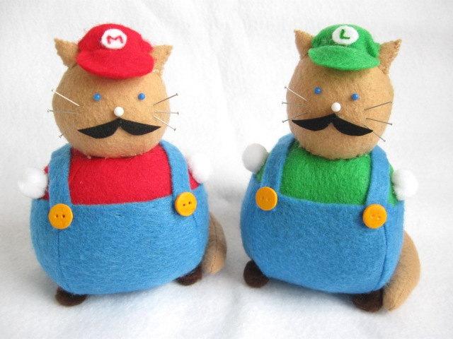 Super Mario Kittens (Foto: Etsy)