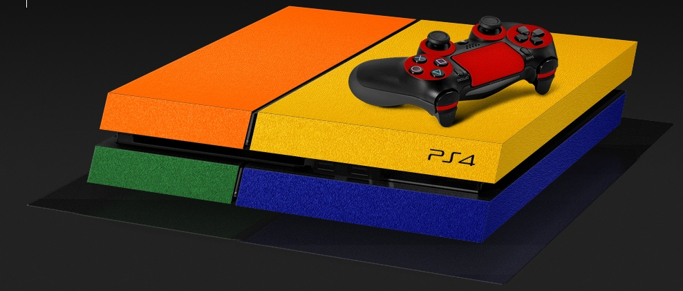 Na, wäre das was für eure PS4? (Foto: dbrand)