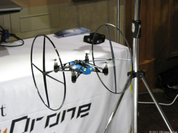 AR.Drone Mini. (Foto: CNET)