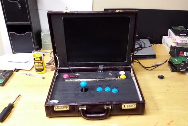 Ein Arcade-Koffer?! (Foto: Travis Reynolds)