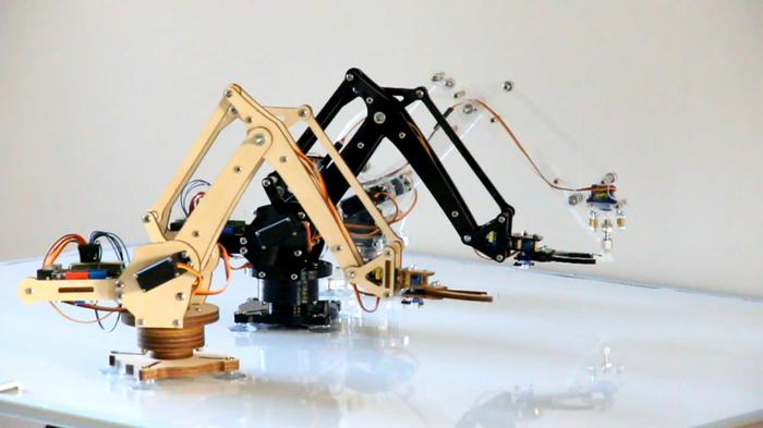 Ein Roboterarm zum Spielen? Hmm. (Foto: Kickstarter)