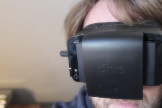 Dive aufgesetzt. (Foto: GamingGadgets.de / Sven Wernicke)