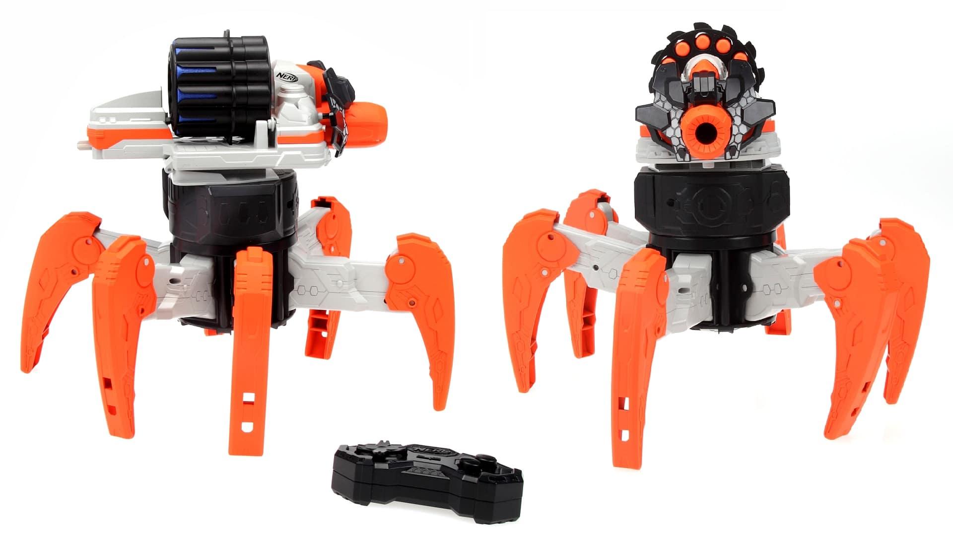Roboter und Dartblaster in einem (Foto: Hasbro)