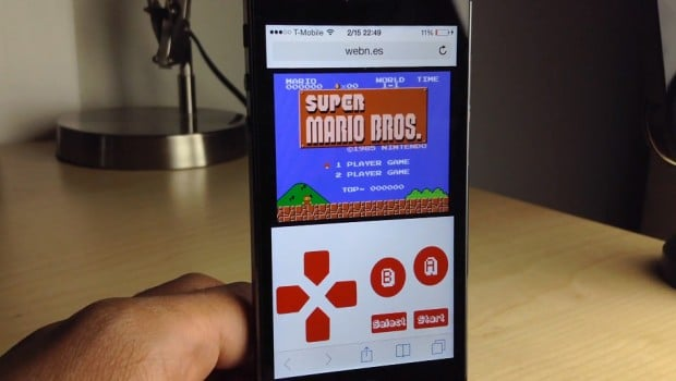 NES auf dem iPhone. So geht's. (Foto: Youtube)