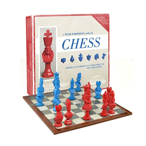 Schachmatt mit den TF2-Kontrahenten (Foto: ThinkGeek)