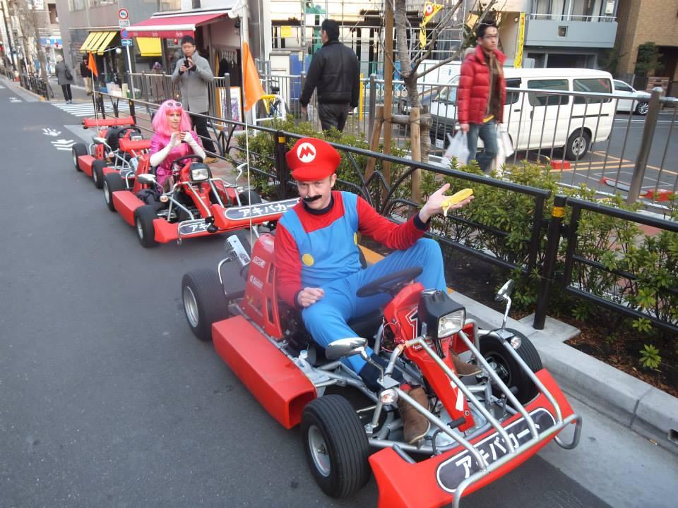 Hello, everyone! It's-a me, Mario!! (Foto: Tokyo Gaijins)