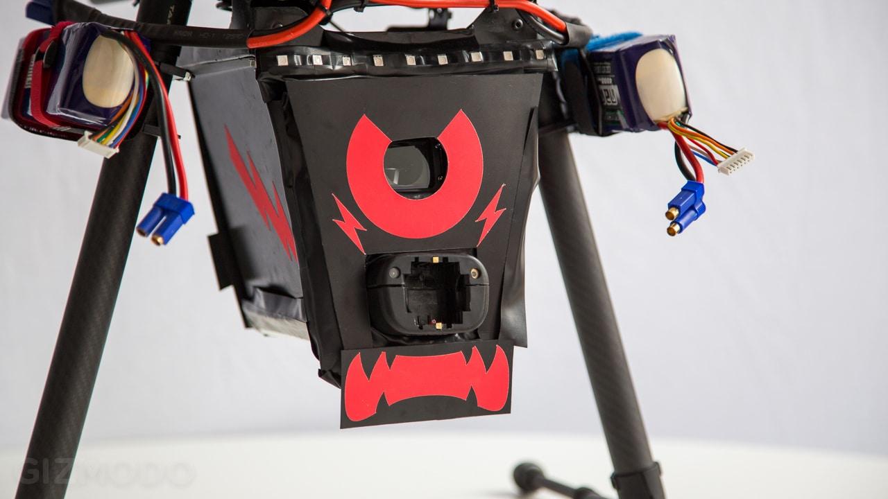 Die Drohe sieht schon so aggresiv aus... (Foto: Gizmondo.com)