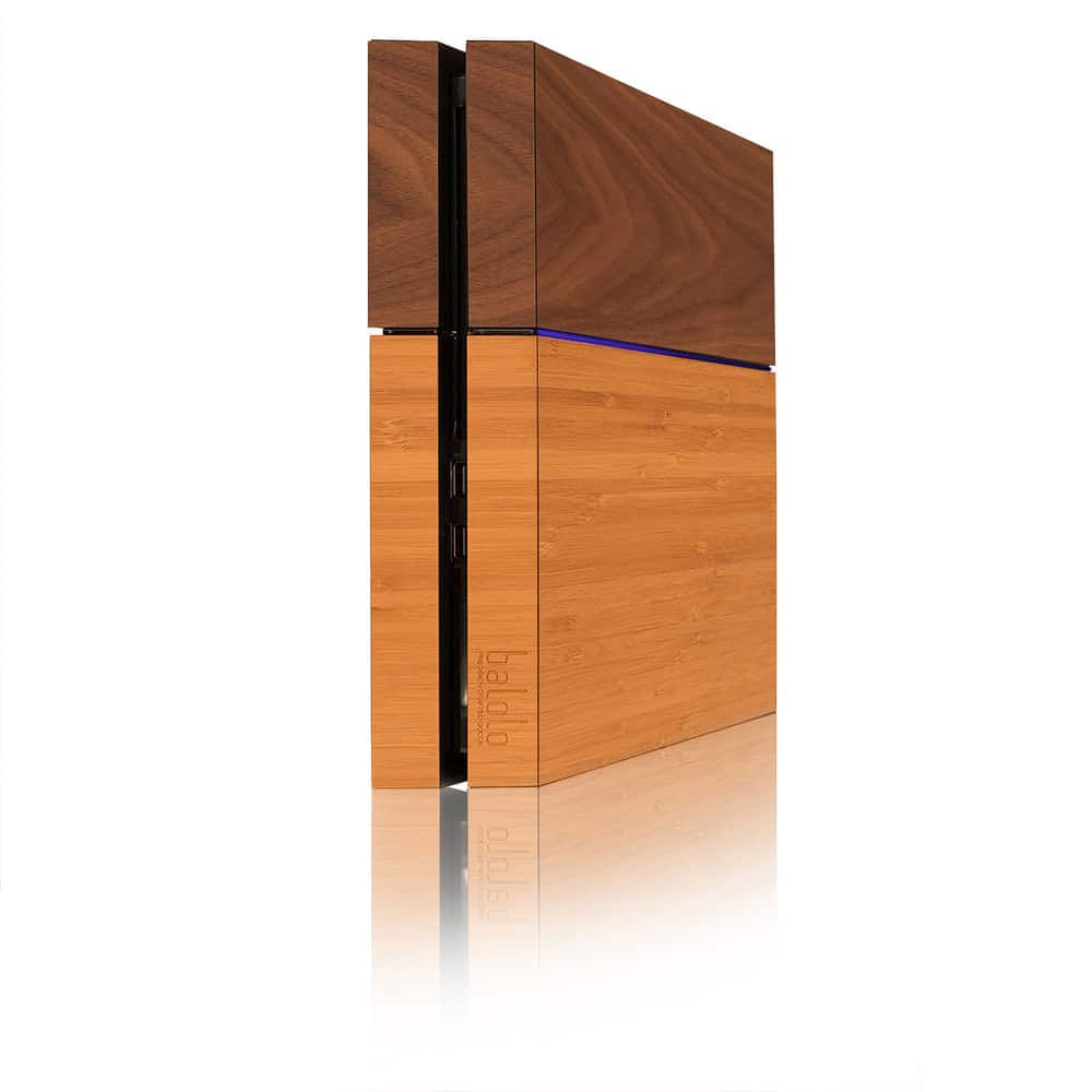 PS4 Holz Cover (Foto: balolo)