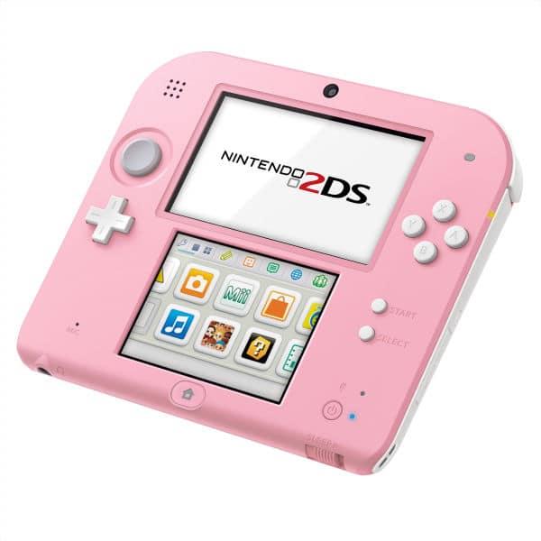 2DS in Pink. Hübsch? (Foto: Nintendo)
