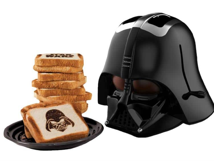 Röstbrot auf Sith-Art (Foto: Big Bad Toy Store)