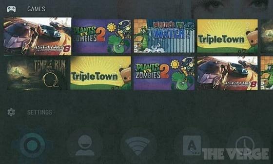 Android TV wird eine Plattform auch für Spieler? (Foto: TheVerge)