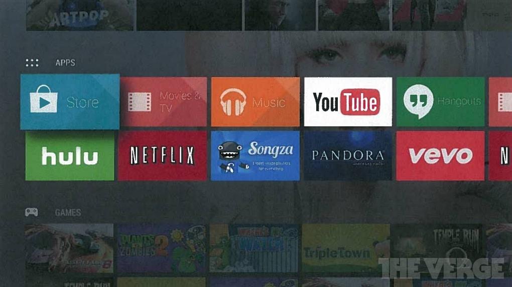 Apps einfach und übersichtlich präsentiert - das sieht Apple TV sehr ähnlich. (Foto: TheVerge)