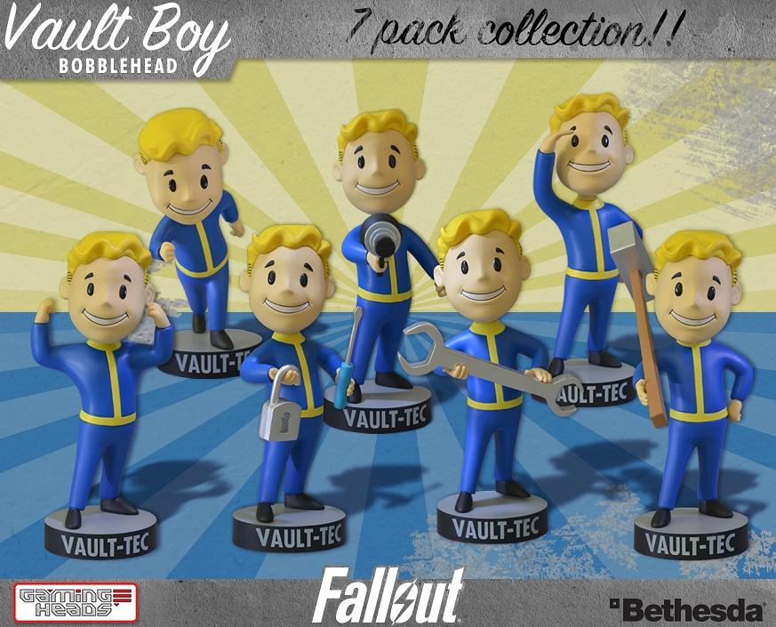 Fallout Wackelkopf-Figuren Serie 1 (Foto: GamingHeads))