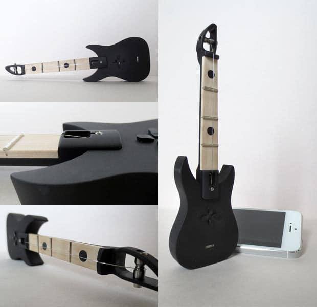 Eine kleine Gitarre... (Foto: Kickstarter)