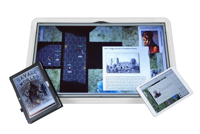 Artikel Lesen Der Touchscreen Fr Tabletop Aktivisten Foto Kickstarter