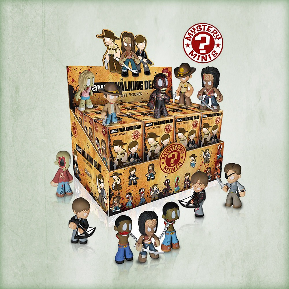 The Walking Dead Mystery Minis Series 2 (Foto: Funko)