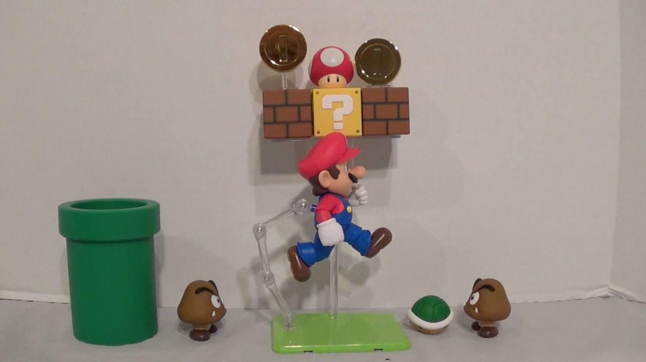 Das komplette Mario-Diorama - von einem Fan zusammengestellt. (Foto: nintendofuse.com)
