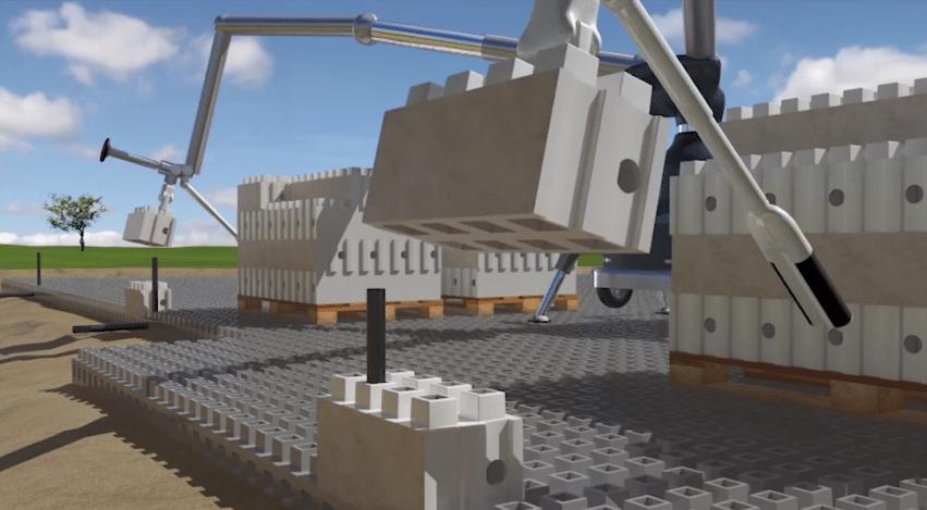 Sehen so die Bauplätze der Zukunft aus? (Foto: greenprophet.com)