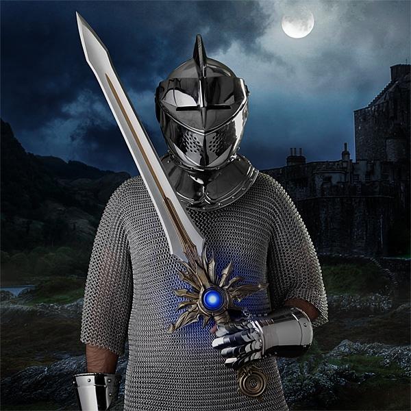 Ein großes Schwert - na, wie wäre es? (Foto: ThinkGeek)