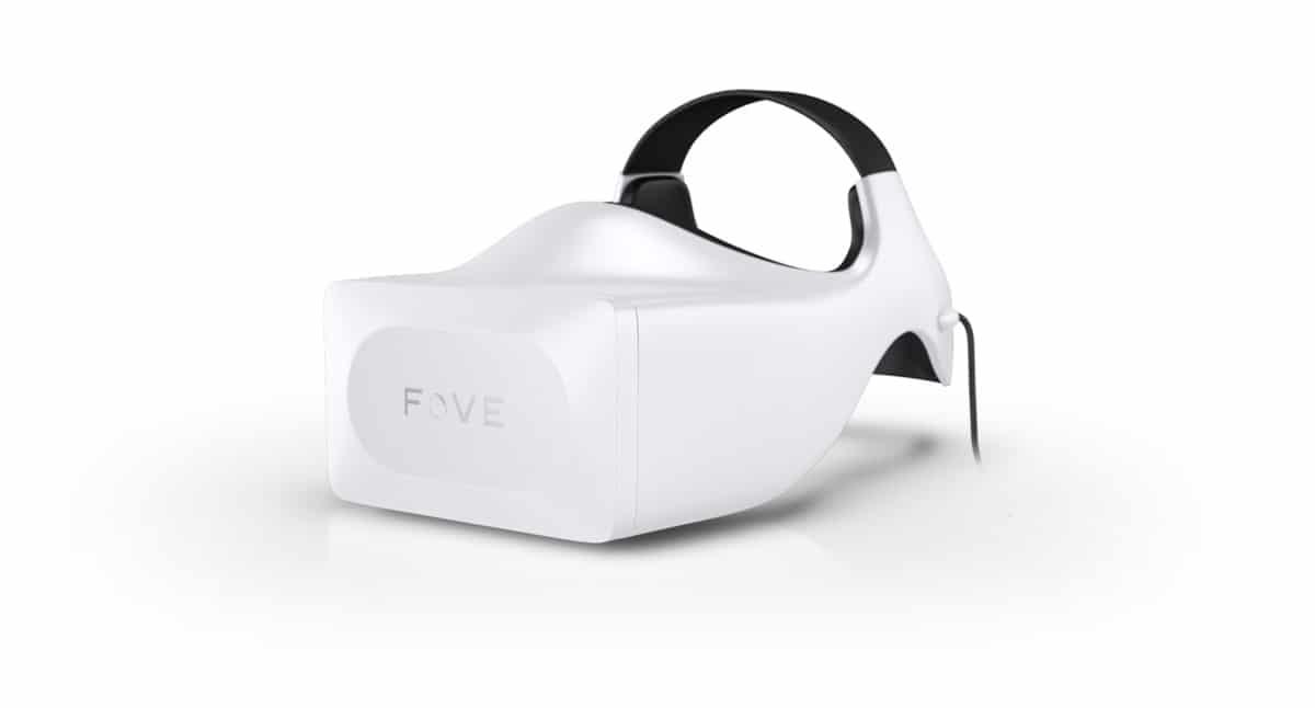 Das ist sie - die Brille mit Eye-Tracking. (Foto: FOVE Inc.)