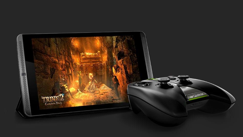 Tablet mit Controller und interessanter Software - die Zukunft? (Foto: Nvidia)