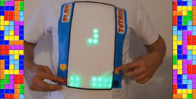 Tetris zum Anziehen? Nunja... (Foto: Youtube)