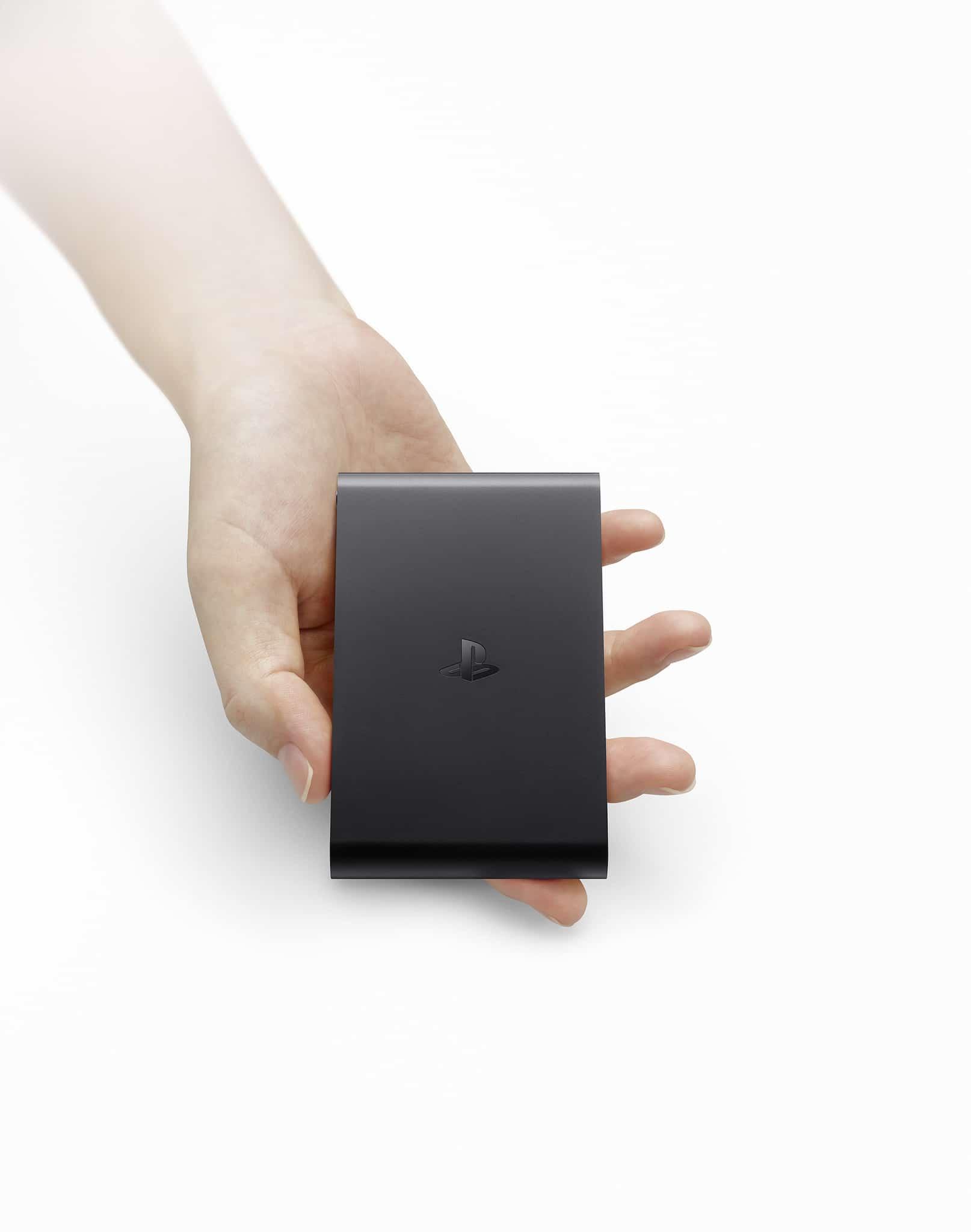 Die PlayStation TV-Konsole erscheint in Europa in schwarz! (Foto: Sony PlayStation)