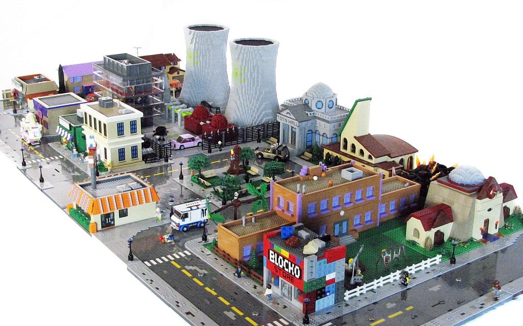 Die komplette Heimatstadt der Simpsons! (Foto: Flickr.com)