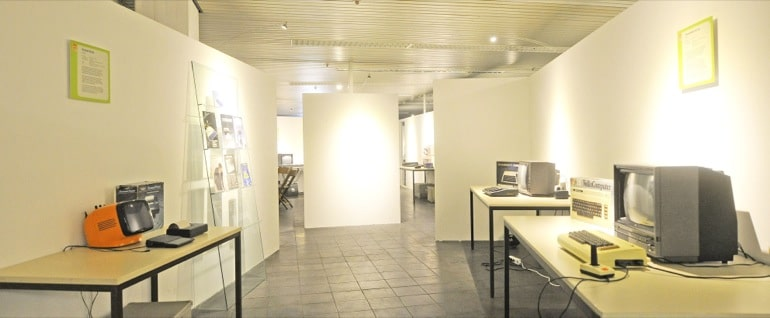 Die Räume sind auch nach Zeit geordnet. Hier im Bild: 1982. (Foto: .computermuseum-oldenburg.de)