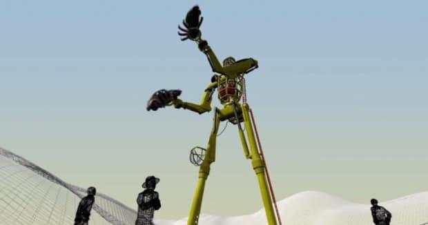 So könnte der Roboter mal aussehen. Nunja.. (Foto: Kickstarter)