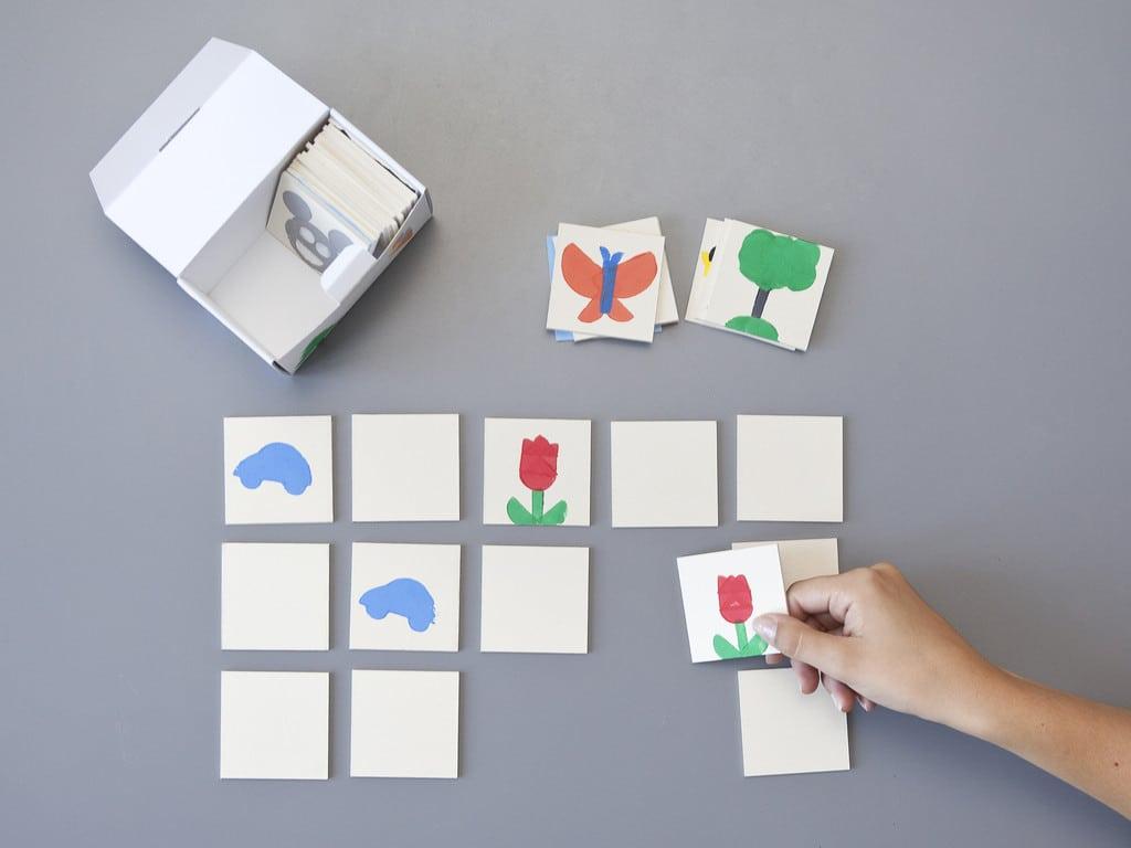 Sieht doch ganz einfach aus - ein Memoryspiel für Kids. (Foto: Frida & Finn)
