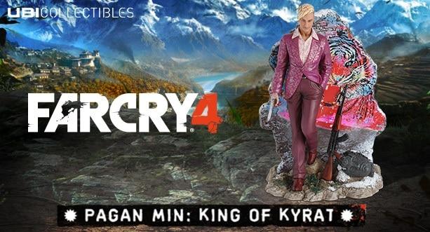 Sammlerfigur vom selbsternannten Herrscher von Kyrat (Foto: Ubisoft)