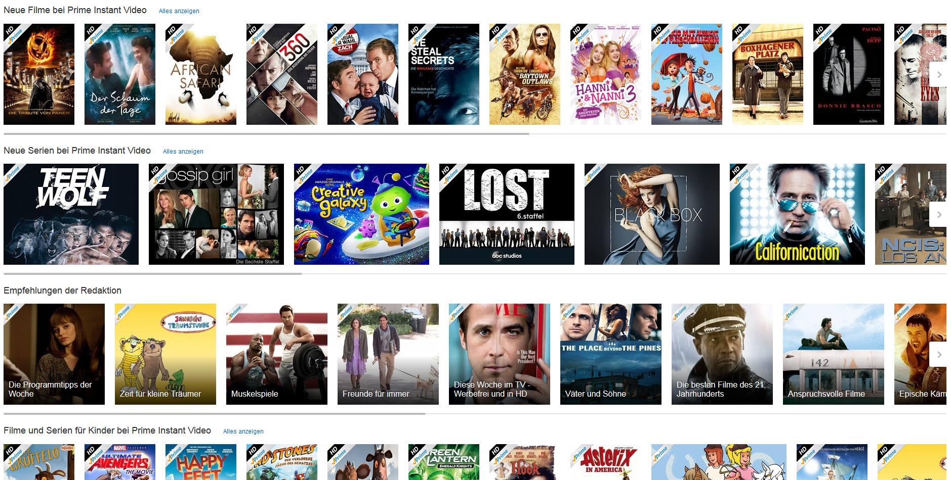 Amazon instant video filme und serien ohne ende der praxistest