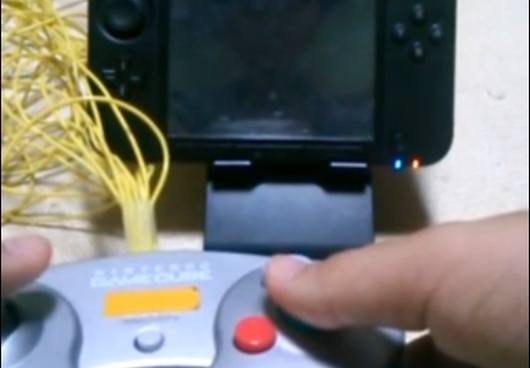 Cube-Controller trifft auf 3DS. (Foto: Youtube)