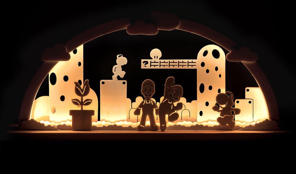 Ein Super Mario Bros. - Schwibbogen? Toll! (Foto: hipbogen)