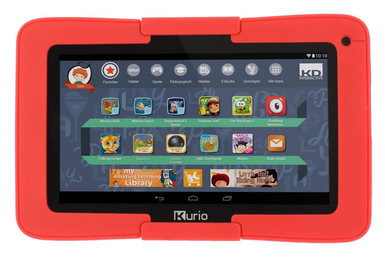 Gewinnt das 7-Zoll-Tablet Kurio Tab. (Foto: KD Interactive)