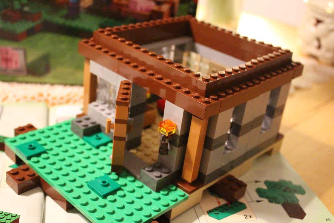 Bauanleitung haus lego lego minecraft steves haus