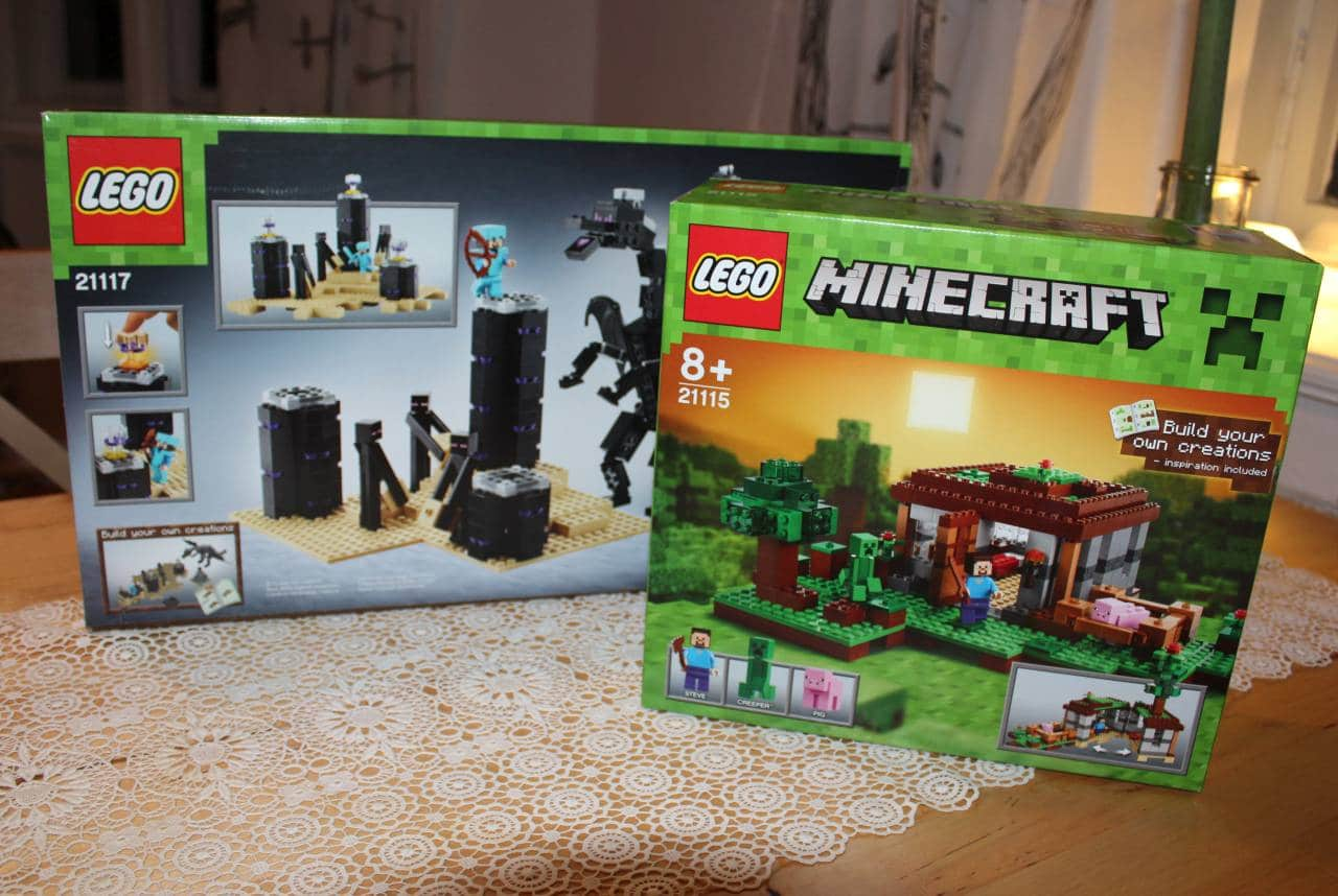 Gewinnt diese beiden LEGO Minecraft-Baukästen im Gesamtwert von 120 Euro!