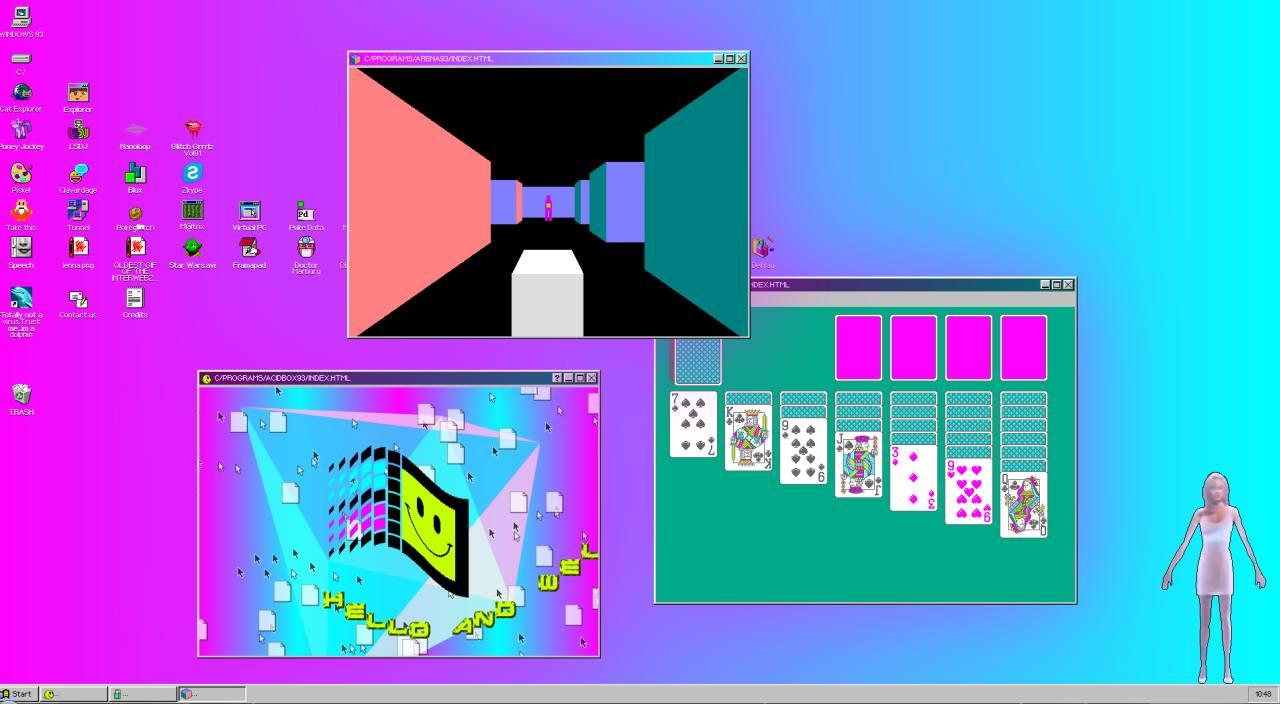 Herrlich und sogar mit Multitasking. (Foto: Screenshot)