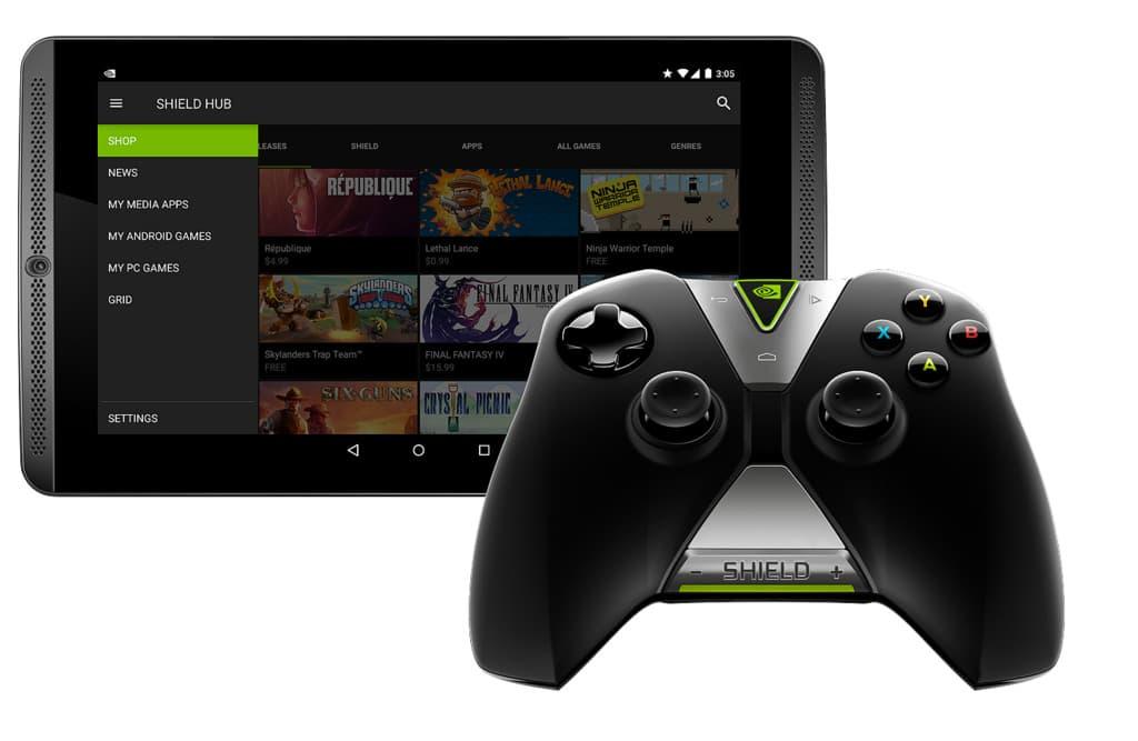 Einzige Möglichkeit bisher, Grid zu verwenden: das Shield Tablet. (Foto: Nvidia)