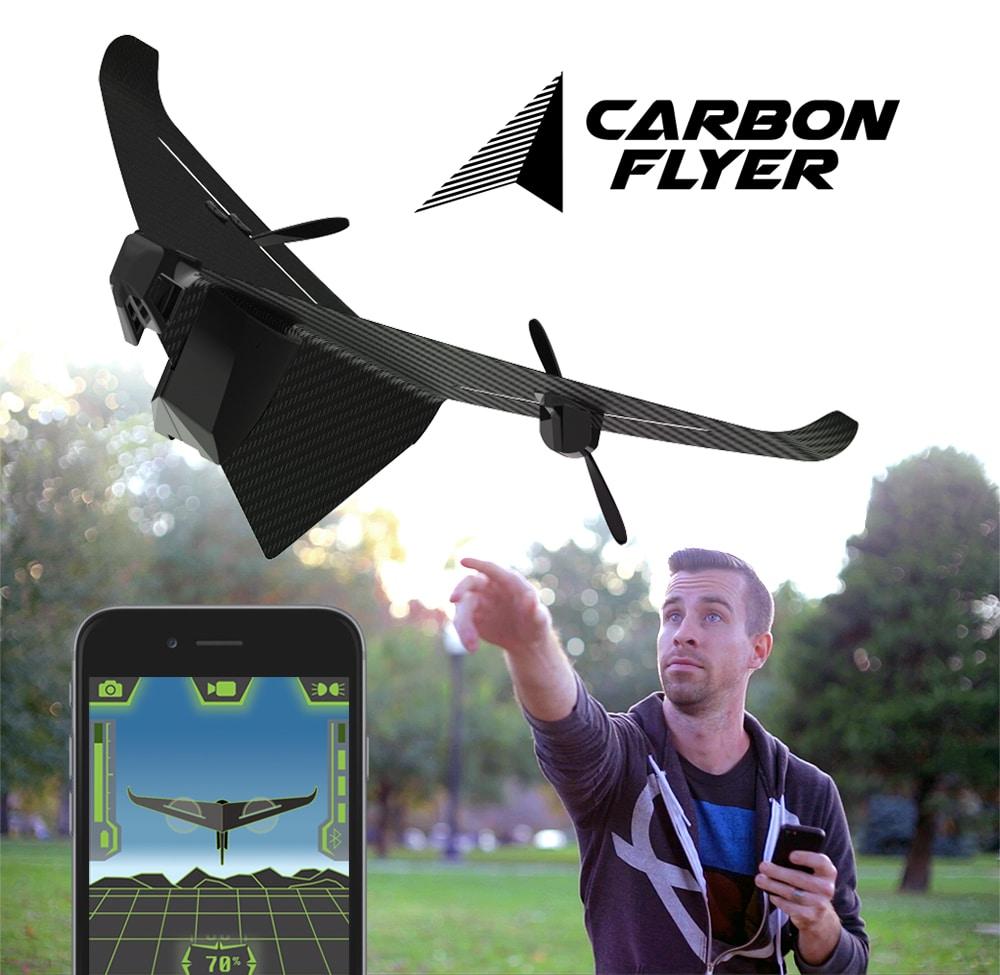 Moderne Technik trifft auf die Idee eines Papierfliegers. (Foto: Indiegogo)