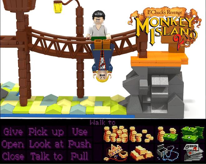 Monkey Island Zeit